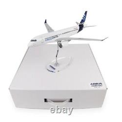 1100 AIRBUS A220-100 Commercial Airplane Desktop model with Metal Acrylic stand