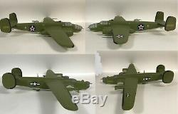 4 Desk Top Display 1/24 Model Military Aircraft Airplanes for Repair