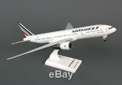Airplane AIR FRANCE Boeing 777-200 Desktop Wood Model Aircraft