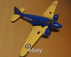 Airspeed AS-10 Oxford Training Aircraft Airplane Desktop Wood Model Small