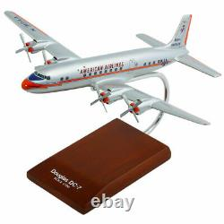American Airlines Douglas DC-7 Desk Top Display Model 1/100 Aircraft ES Airplane