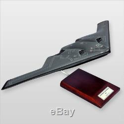 B-2 Spirit Wood Desktop Model