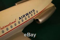 BRANIFF International Airways BAC 1-11 Aircraft Desk Top Model withWing Span 22