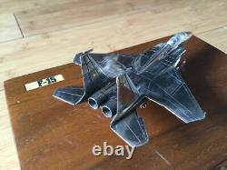 Collectible Sterling Silver McDonnell Douglas F-15 Eagle Aircraft DeskTop Model