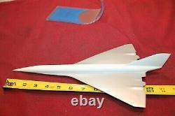 Extremely Rare Lockheed Factory Sst L-2000 Model Airplane Desktop Limited Issue