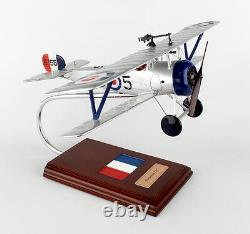 French Nieuport 17C Desk Top Display 1/20 Model Aircraft WWI Fighter ES Airplane