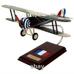 French Nieuport 28 Desk Top Display Fighter Aircraft Model 1/20 WWI ES Airplane