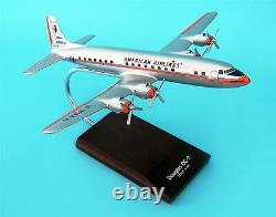 G0910 Executive Desktop American Airlines DC-7 1100 Model Airplane