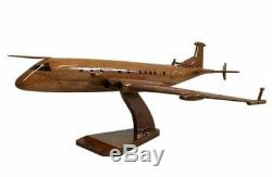 Hawker Siddeley Nimrod Mk 4 RAF Surveillance Aircraft Wooden Desk Top Model
