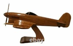 Hawker Typhoon WW11 RAF/RCAF Fighter/Bomber Aircraft Wooden Desk Top Model