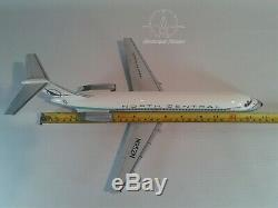 Mahogany desktop aircraft model DC9-30 North central airlines to scale 1/100