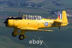 North American BT-9 USAAC Primary Trainer Aircraft Desktop Kiln Wood Model Large