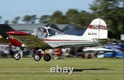 SIPA S. 1000 Coccinelle French Trainer Aircraft Desktop Wood Model Regular