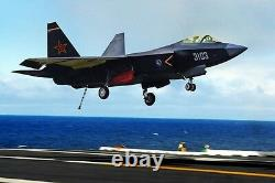 Shenyang J-31China Stealth Multirole Fighter Aircraft Desktop Wood Model Small