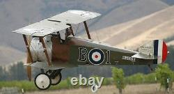 Sopwith Camel Biplane Fighter Aircraft Desktop Wood Model Small New