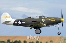 US Army Bell P-39 Airacobra Desk Top Display Model 1/34 MC 098 Aircraft Airplane