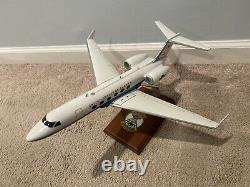 USA Air Force Plane Wood model Desk top Sam Fox 99th Airlift Squadron Pre Owned