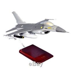 USAF F-16C Falcon Desk Top Display Model 1/32 Jet Fighter Aircraft ES Airplane