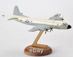 Vintage US Navy Lockheed P-3 Orion Aircraft Plane Desktop Model with Stand