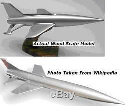 When World Collide Space Ark Aircraft Desktop Wood Model Small New